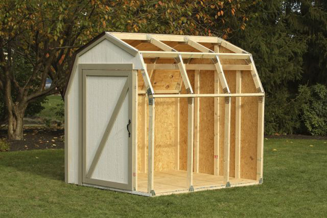 Photo gallery interex forest products ltd for Garden shed kits menards